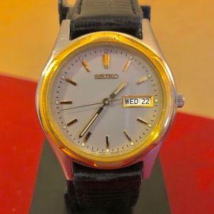 Seiko 40mm Quartz Watch